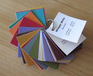 Card stock sampler 2010