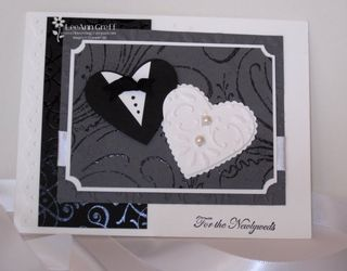 April Club wedding card