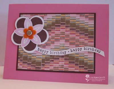 Paper Bargello tech card