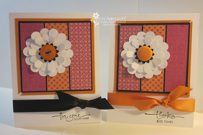 Double daisies sweet & sour cards