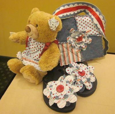 Fabric bear
