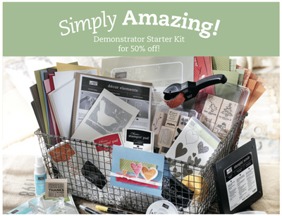 Simply Amazing starter kit sale