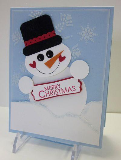 Punchy snowman 1