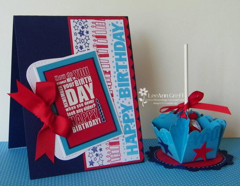 CF Birthday wheeled card & candy holder