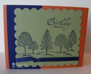 Bank masculine tree birthday