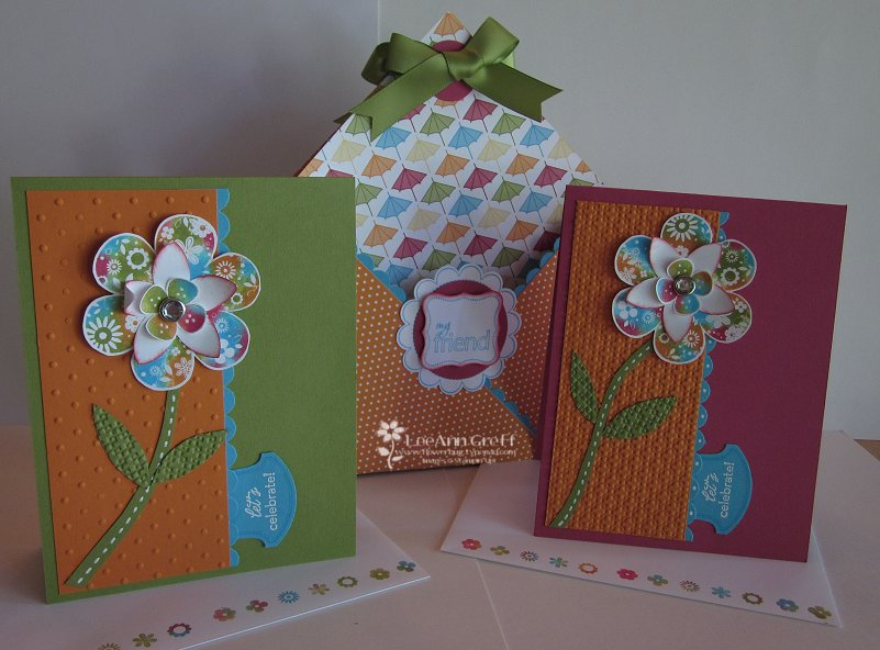 12 X 12 tote & cards