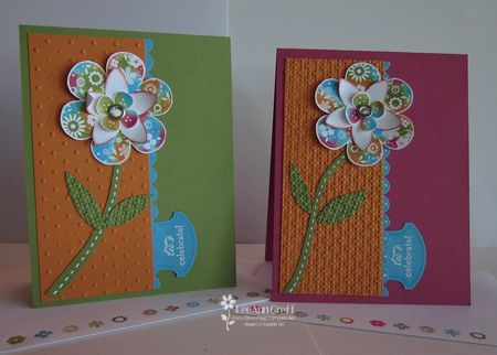 12 X 12 card tote cards