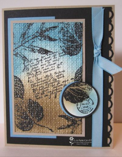 Sept 10 Double Time embossing
