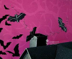 Halloween house bats