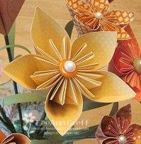 3d flower close up