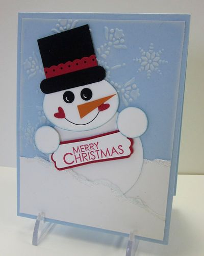 Punchy snowman