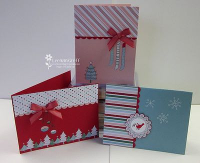 Candy Cane cards 1