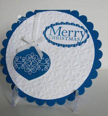 Tags til Christmas Scallop card
