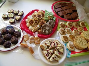 Cookie exchange samples