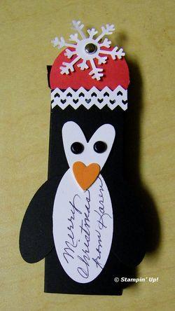 Karen's punched penguin candy slider