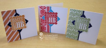 Punch Bunch HB cards