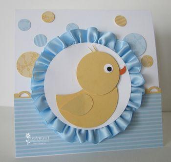 Punch art duckie
