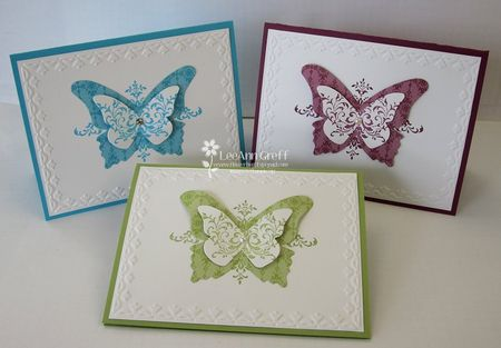 Bliss Butterfly cards