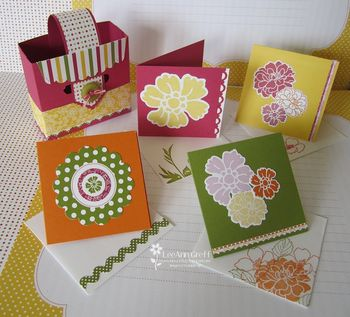 CF Buckle cards & box