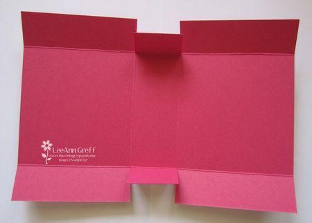 CF Buckle Card box template