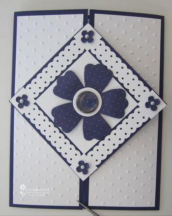 March ribbon club card