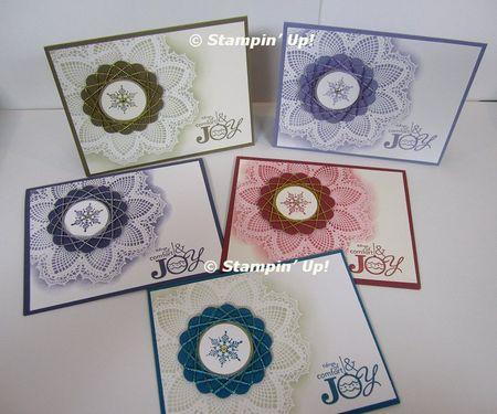 Annette's spirelli christmas cards