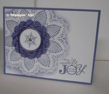 Annette's spirelli wisteria card