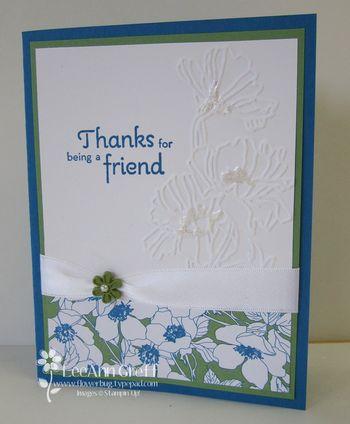 Flower Garden Pacific card