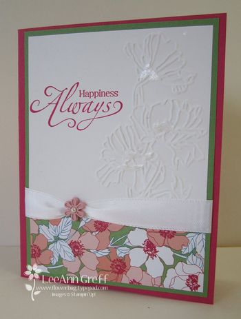 Flower garden Melon card