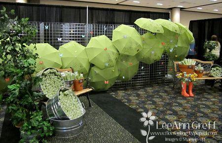 Memento mall unbrellas