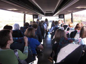 Bus trip to golfing
