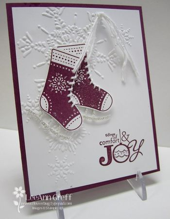 Stitched stockings ice skates