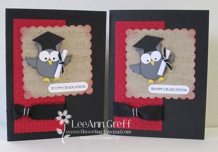 Punch Art Grad Owls