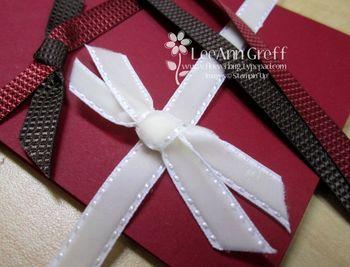 Holiday mini ribbons 2011