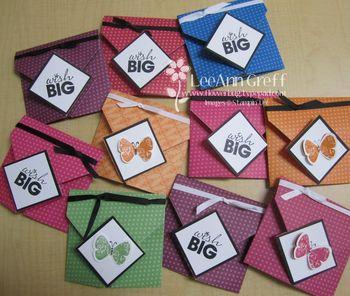 September Club origami fold