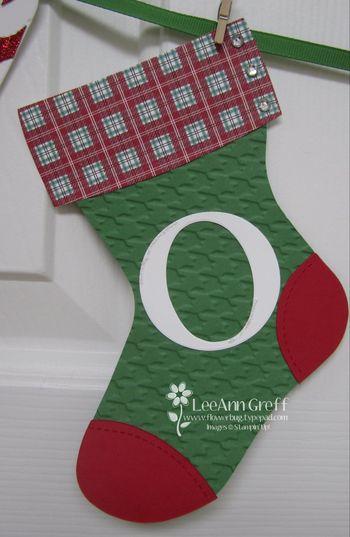 Stocking banner O