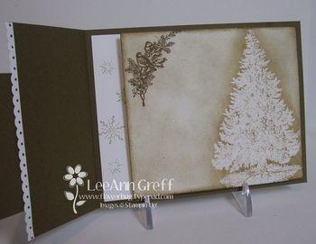 Nov club Christmas lodge inside page