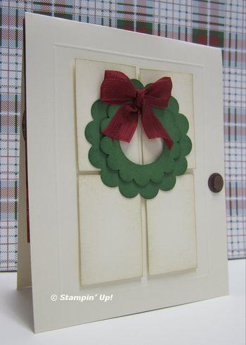 Lorri's fireplace card