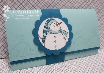 December Club snow much fun gift card