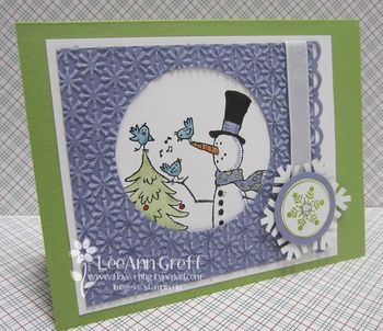 Snow much fun snowflake card