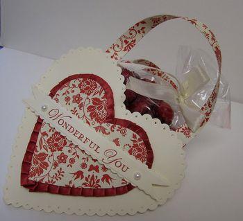 Freaks Valentine heart pocket