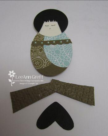 Kimono girl parts