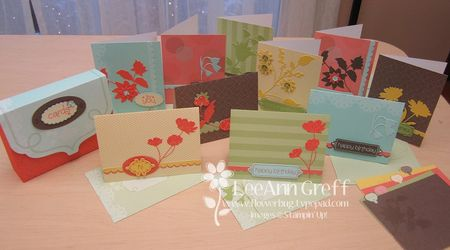 Create & Keep cards & box