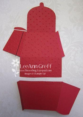 Petite purse square box pattern