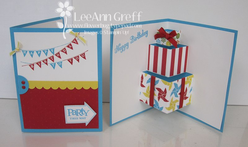 fun popup birthday card tutorial  flowerbug's inkspot, Birthday card