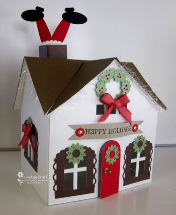 Holiday House with Santa