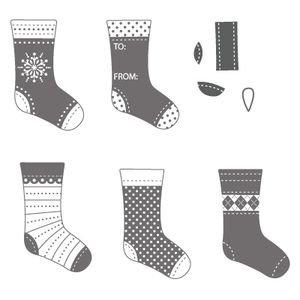 Stockings stamp set