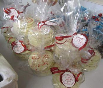 Stamped cookies