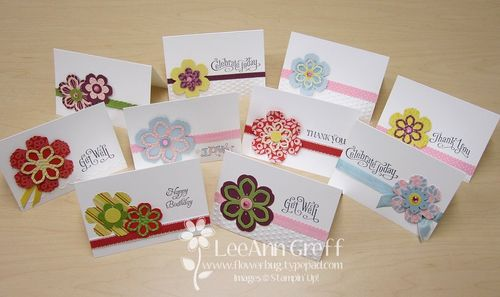 Blossom builders cards