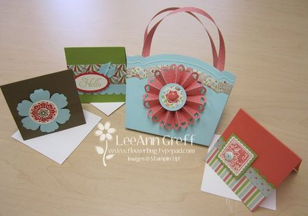 Big Shot class rosette box & cards